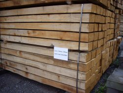 New oak sleepers (click to enlarge)