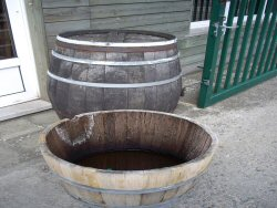 Oak Barrels (click to enlarge)